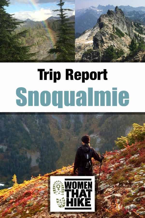 Hiking Snoqualmie Mountain, Washington