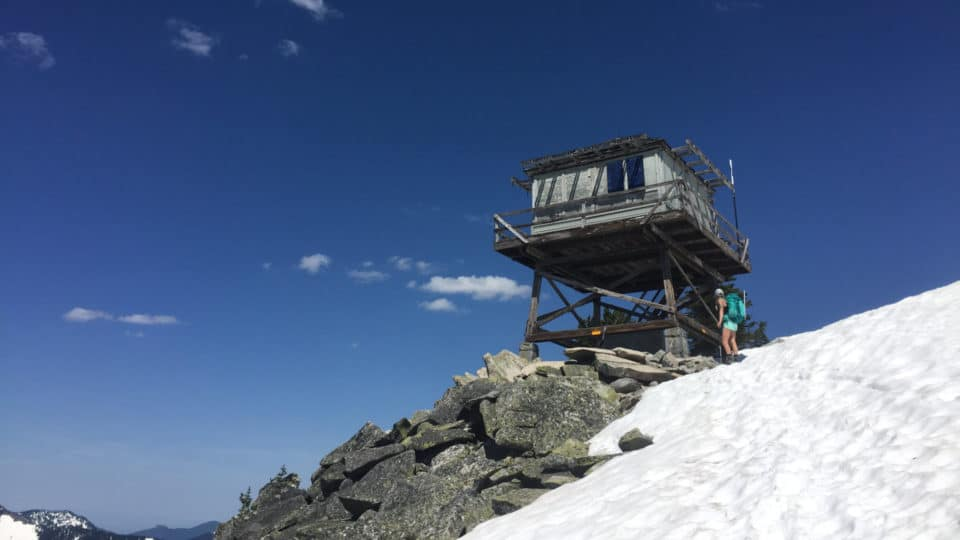 Granite Mountain Lookout Tower Today