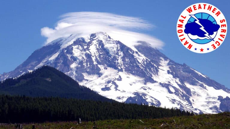 Mount Rainier Recreational Forecast
