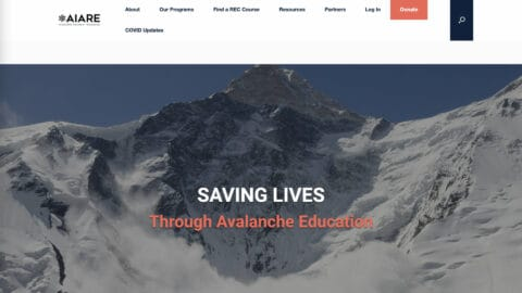 American Institute for Avalanche Research and Education AIARE